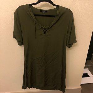 Army Green Madewell Dress